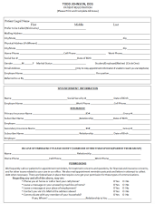 Front page of new registration document