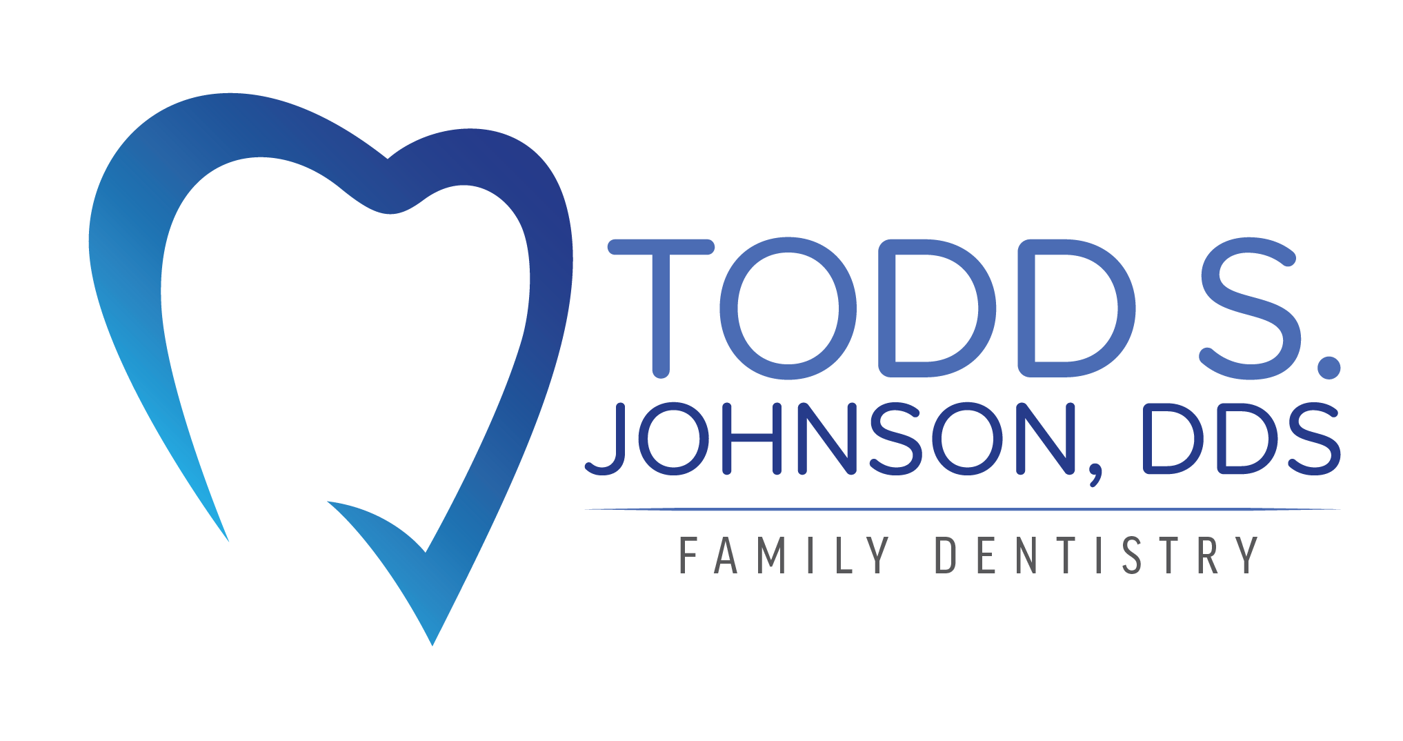 Logo for Todd S. Johnson, DDS - Family Dentistry. Link Home
